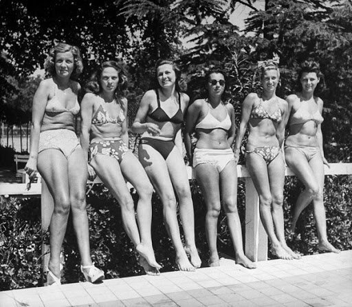 Советские девушки на пляжах