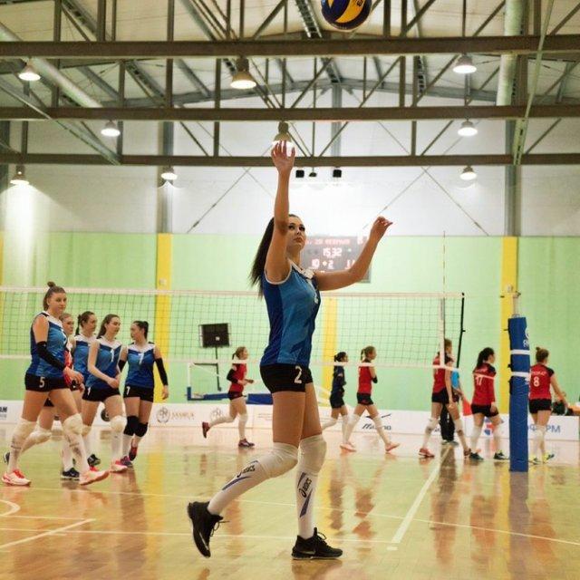Казахстанская волейболистка Татьяна Демьянова