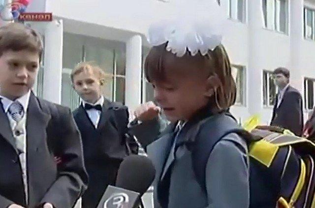 Героиня ролика «Никакого праздника» Ася Петряева