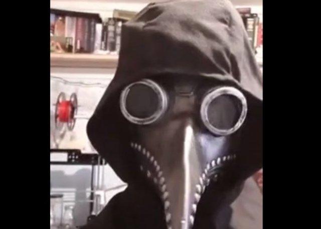 Основная проблема неправильно сделанной маски чумного доктора