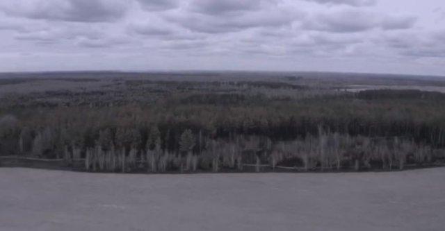 Наглядно: последствия пожара в Чернобыльской зоне отчуждения