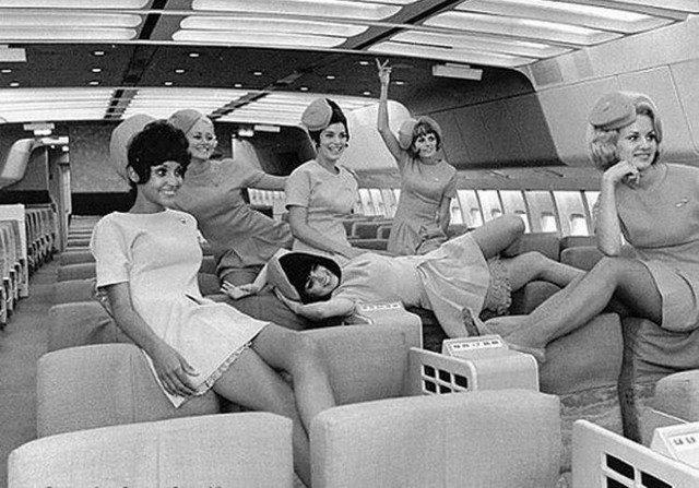 Стюардессы 60-70-х годов