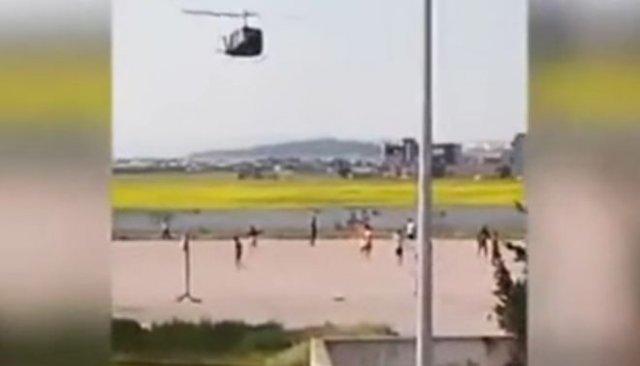 Вот так в Тунисе разгоняют любителей пляжного волейбола