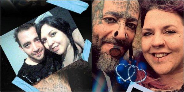 Пол Мэтью до и после тату и пирсинга