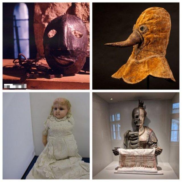 Музеи всего мира поделились самыми страшными экспонатами, которые у них есть (10 фото)