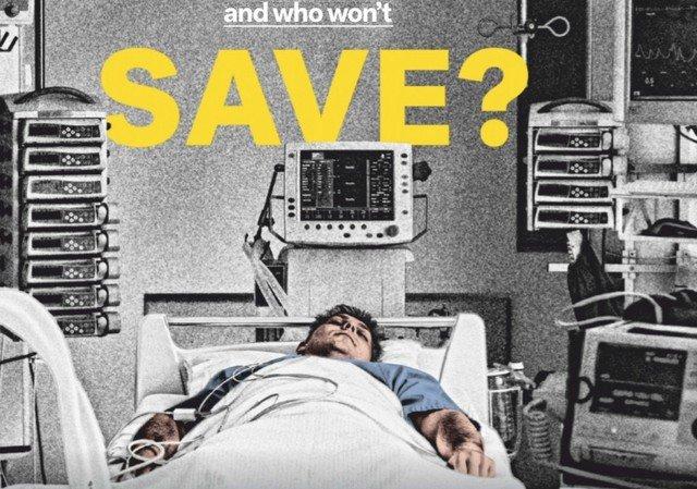 Обложки мировых СМИ на тему коронавируса
