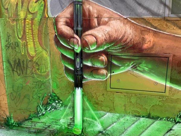 3D-граффити художника Тома Брагадо Бланко