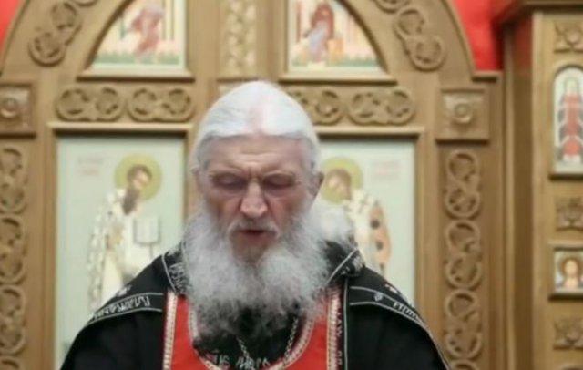 Отец Сергий проклял всех, кто закрывает храмы на карантин