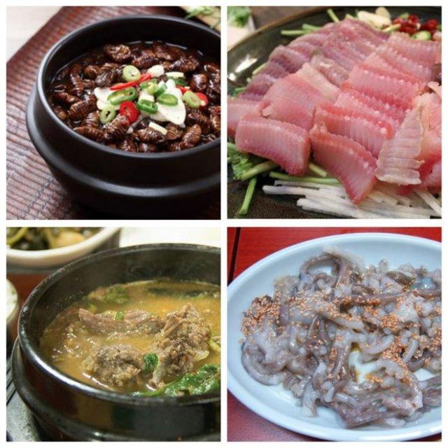Самые необычные и странные блюда Кореи, которые вам покажутся отвратительными (5 фото)