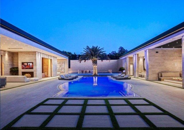 Дом самой молодой миллиардерши Кайли Дженнер за 36 миллионов долларов