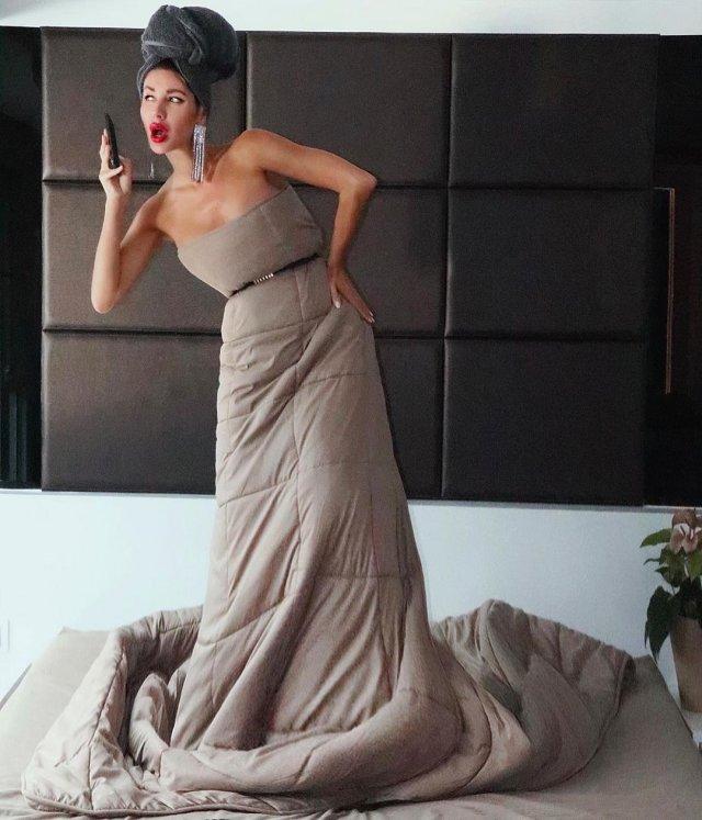 челлендж duvetchallenge: нарядись в одеяло