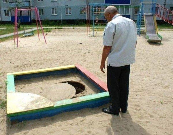 Идеальное место для песочницы