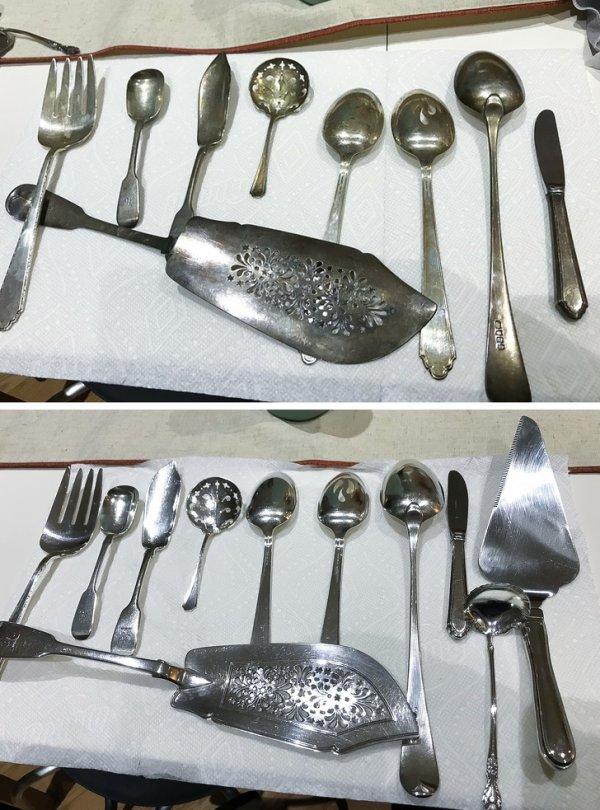 Семейное серебро из Англии