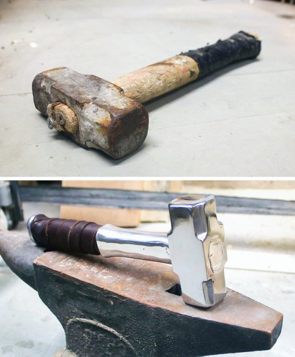 """Я превратил этот ржавый молоток в """"молот Тора"""""""