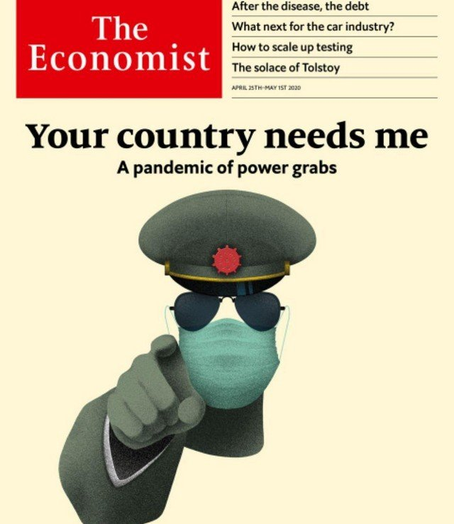 Обложки мировых СМИ во времена пандемии коронавируса