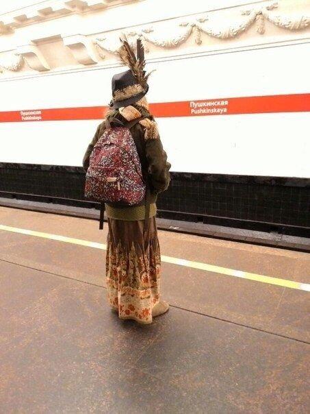 Модники из петербургского метро