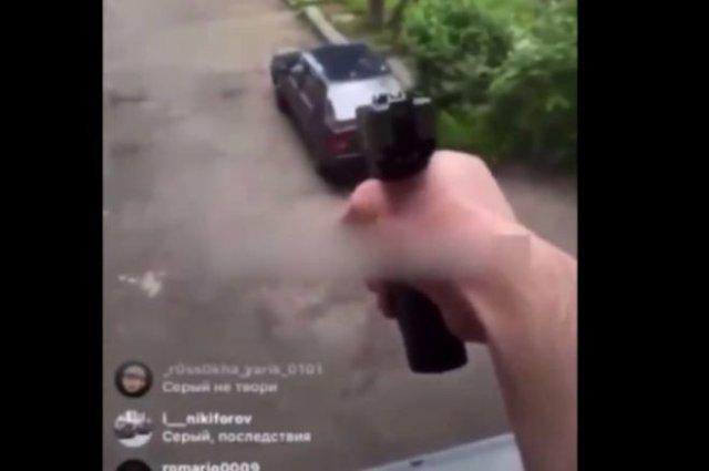15-летний «гангстер» из Днепра устроил стрельбу с травматического пистолета из окна