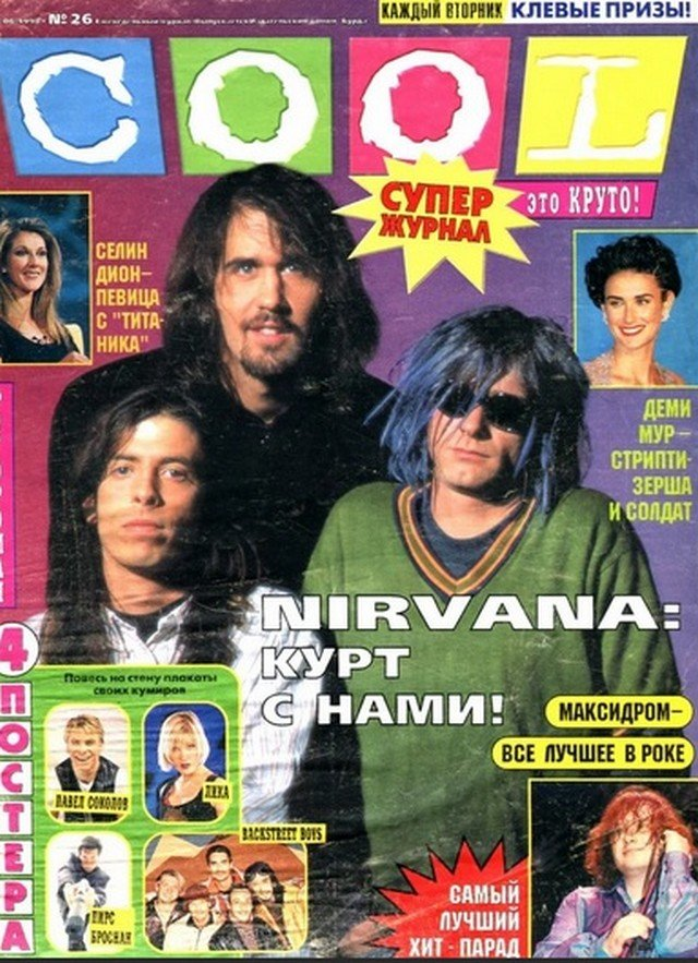 Ностальгические обложки из 90-х