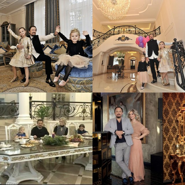 Леопардовый принт, золото и люстры: в каких квартирах живут отечественные знаменитости