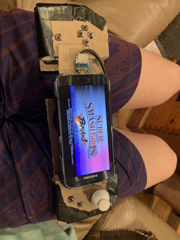 Nintendo Switch своими руками