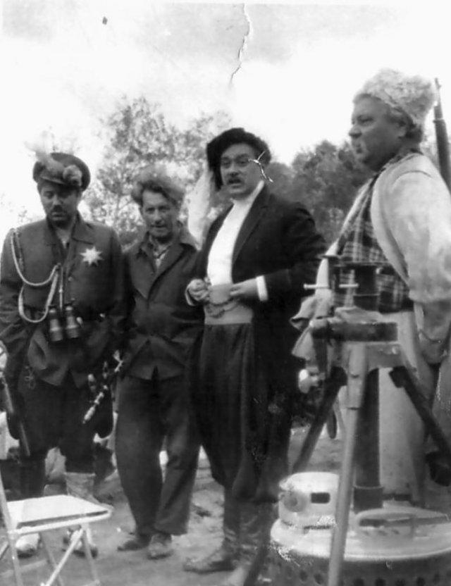 Архивные фотографии со съемок знаменитых фильмов