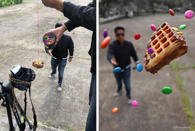 Находчивые фотографы, которые создают шедевры с помощью подручных материалов