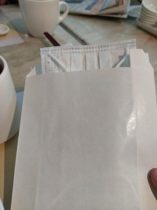 Маска в конверте