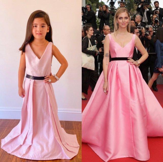 Сестры-малышки Руби и Бруклин Каратс повторяют образы мировых знаменитостей