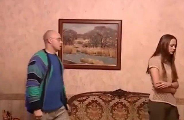 """""""Шикарный"""" диалог в российском сериале"""
