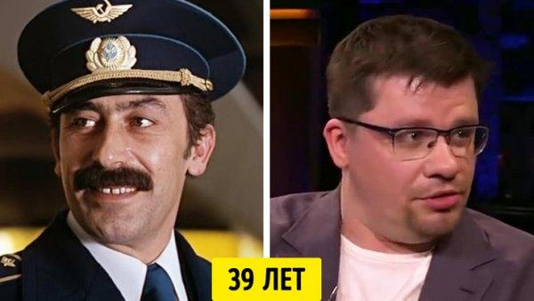 Вахтанг Кикабидзе и Гарик Харламов — 39 лет