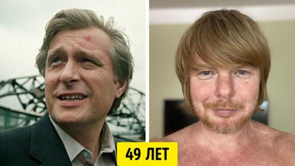 Олег Басилашвили и Андрей Григорьев-Апполонов — 49 лет