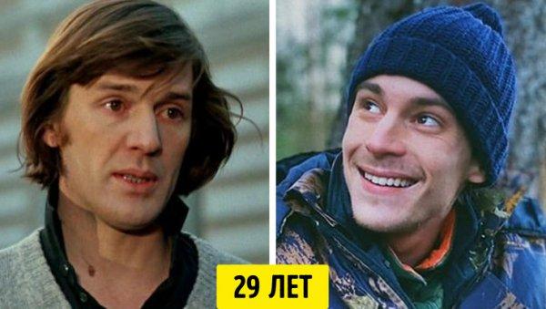 Александр Абдулов и Иван Янковский — 29 лет