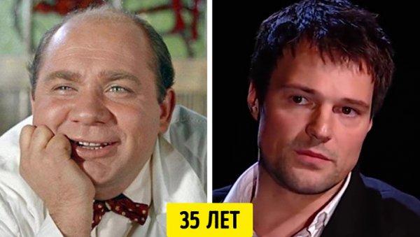 Евгений Леонов и Данила Козловский — 35 лет