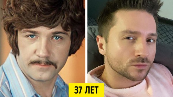 Леонид Куравлев и Сергей Лазарев — 37 лет