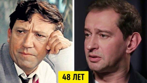Юрий Никулин и Константин Хабенский — 48 лет