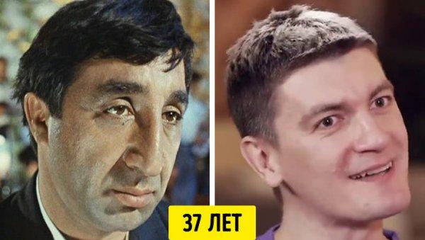 Фрунзик Мкртчян и Александр Гудков — 37 лет
