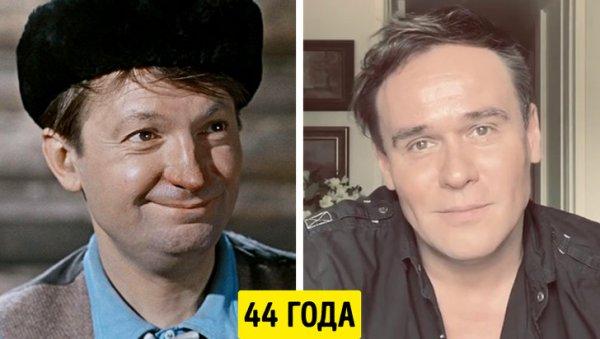 Георгий Вицин и Максим Аверин — 44 года