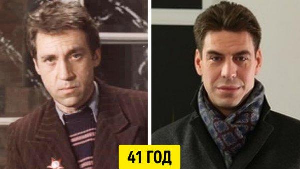 Владимир Высоцкий и Дмитрий Дюжев — 41 год