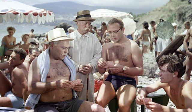 Пляжный отдых в СССР