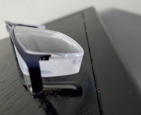 Как выглядят очки человека со зрением −12,5