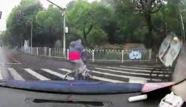Пересел с велосипеда на скутер - не по своей воле