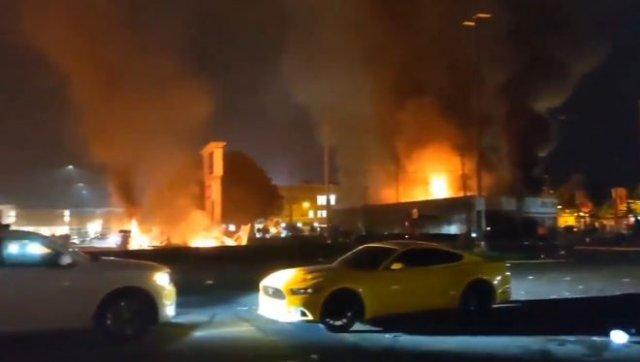 Протесты в Миннеаполисе: как выглядит город после погромов