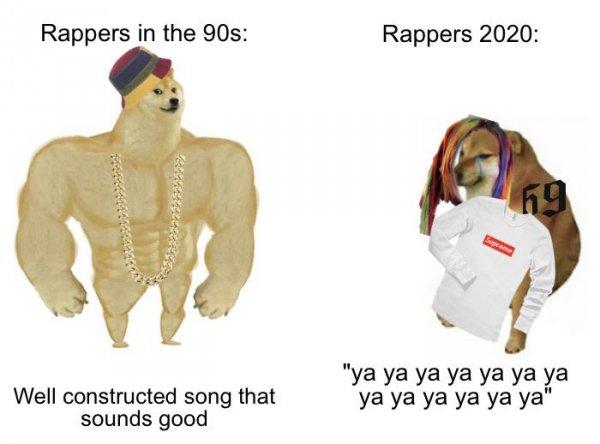 Качок Доге и Чимс: забавный мем про разницу поколений