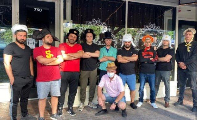 Вооруженные русские в Сан-Диего защитили свой ресторан