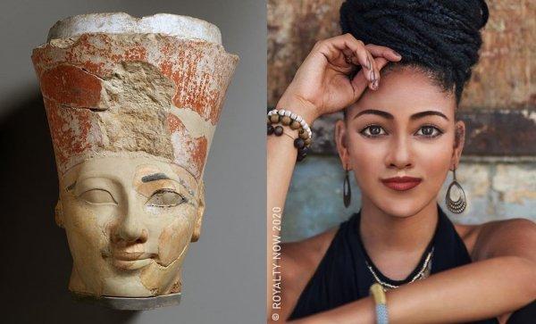 Женщина-фараон Нового царства Древнего Египта.