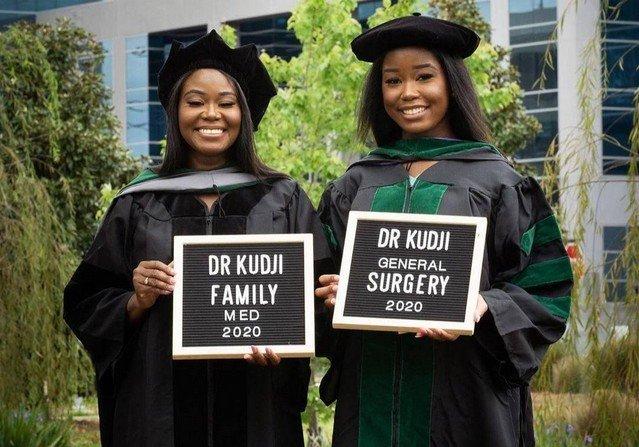 Жасмин и Синтия Куджи - мама и дочь, которые одновременно получили медицинское образование