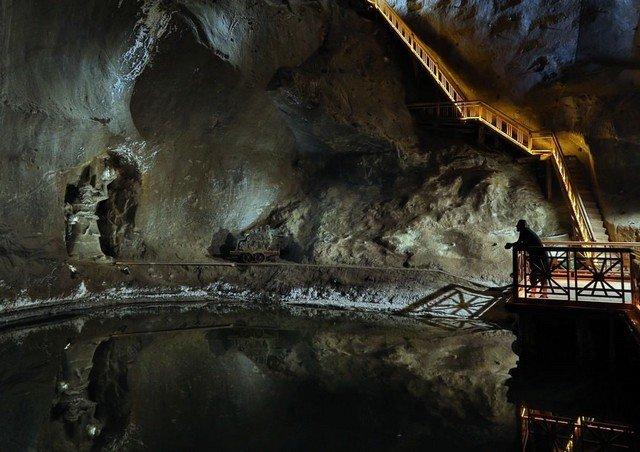 Соляная шахта в польском городе Величка