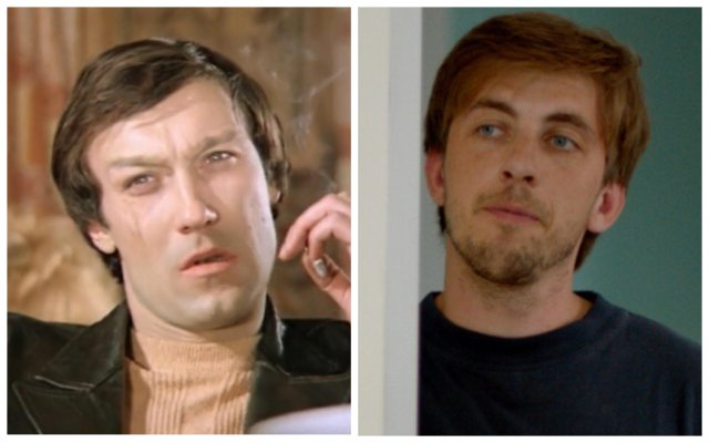 Внешность советских и современных актеров, когда им было по 30 лет