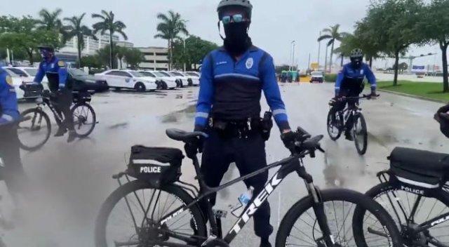 Велосипедная полиция: ожидание против реальности