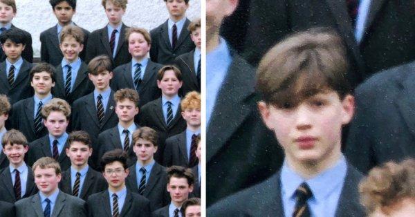 Том Харди в школе, 1991 год